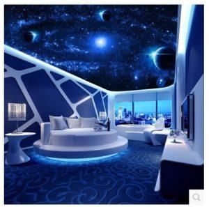 plafond-grande-fresque-3d-stereoscopique-salon-chambre-zenith-papier-peint-le-ciel-etoile-starlight-ktv-papier